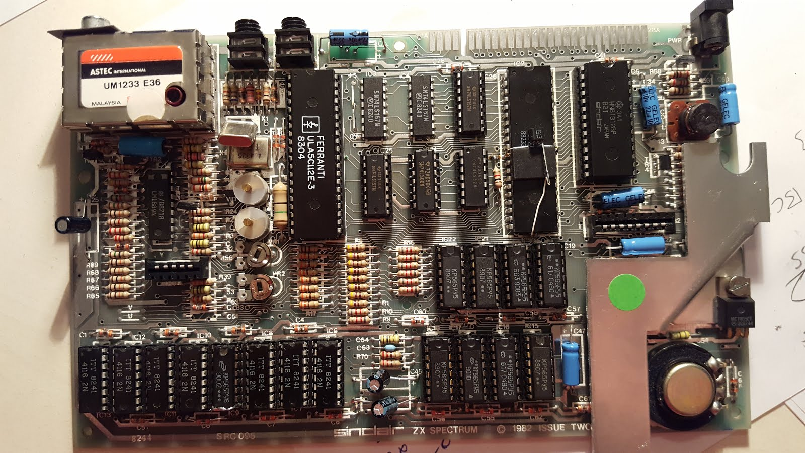 Repairing and upgrading ZX Spectrum 16K