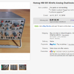 Getting cheap oscilloscope on ebay