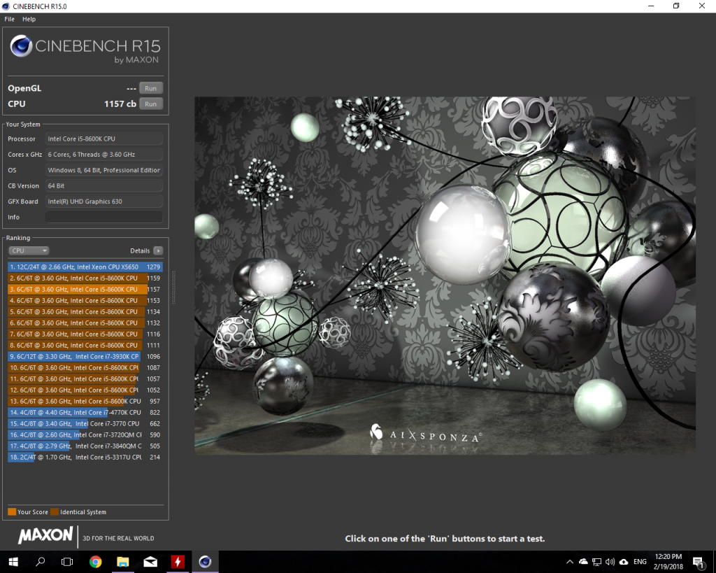 Best CineBench results so far