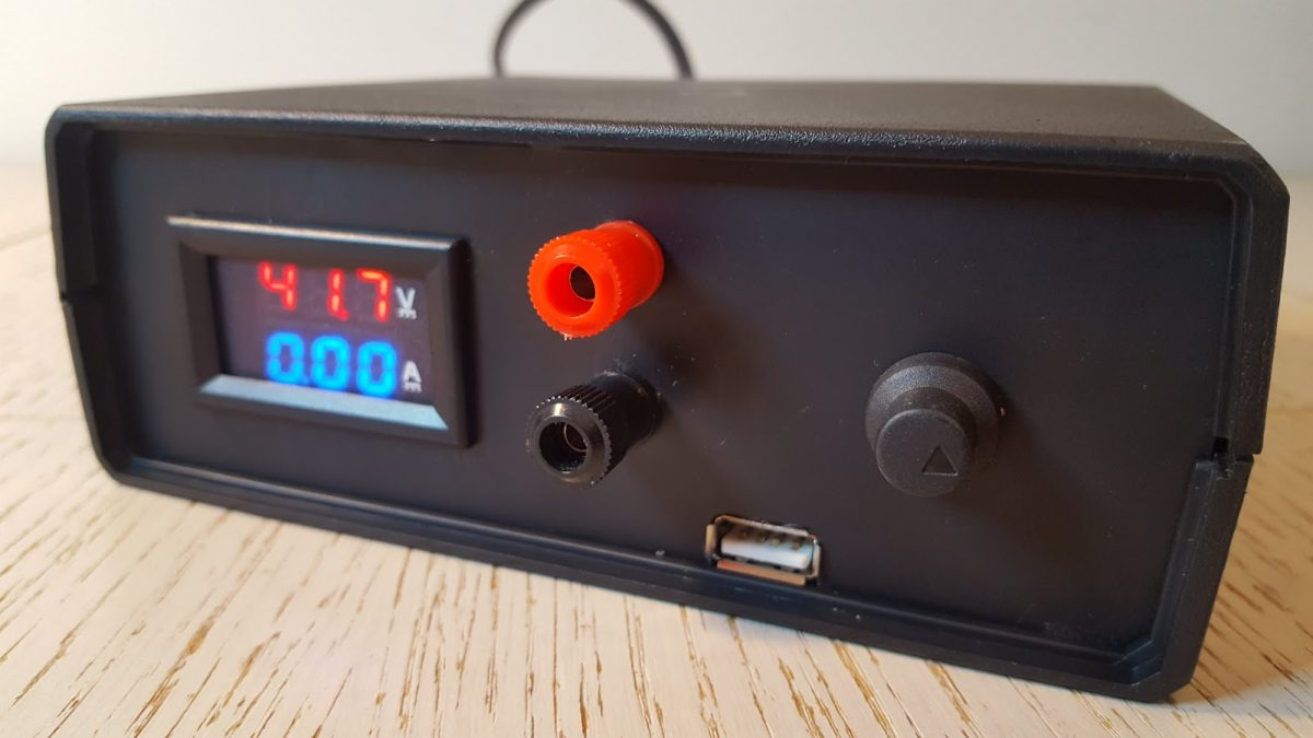 "Making an adjustable ""lab"" power supply from scrap"