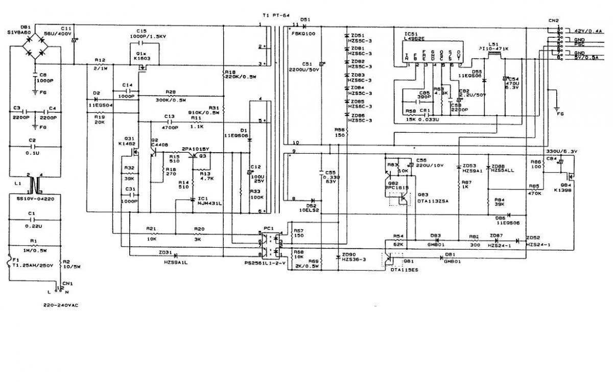 CZ57PSE schematics