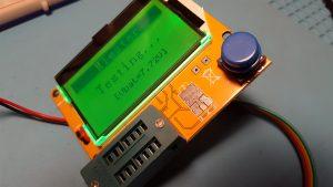 LCR-T4 transistor tester original firmware
