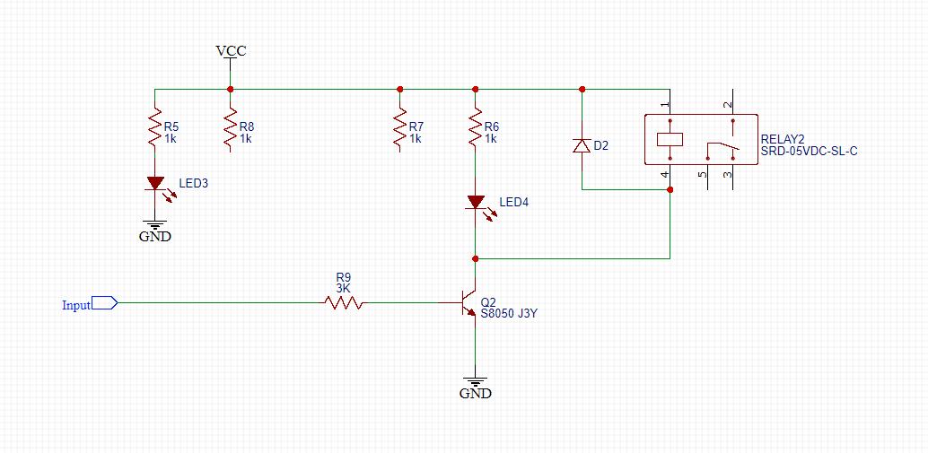 Modified relay module
