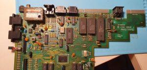 Repairing ZX Spectrum +2A, composite video mod