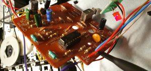 Repairing ZX Spectrum +2A tape deck